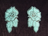 Embroidery Applique (Pair) #AP-19