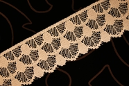 "2 1/4"" Peach Lace Trim #lace-31"