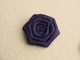 Navy Flower Applique #AP-290