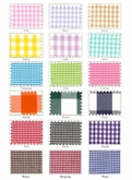 80 yard Roll Gingham Check Fabric Wholesale