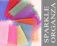 25 yard Bolt Sparkle Organza