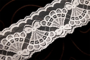 "2 3/4"" White Lace Trim #1089"