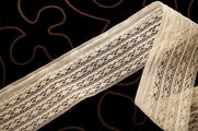 "2 1/4"" Off White Lace Trim #1305"