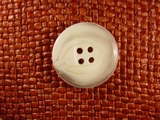 (36pcs) 4 holes Italian Buttons 1 1/8 inches Cream #bag-184