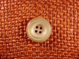 (48pcs) 4 holes Italian Buttons 3/4 inch Khaki Tan #bag-196