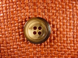 (48pcs) 4 holes Italian Buttons 7/8 inch Brown #bag-200