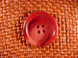 (36pcs) 4 holes Italian Buttons 1 1/8 inches Red Wine #bag-207