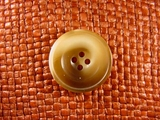 (36pcs) 4 holes Italian Buttons 1 inch Brown #bag-213