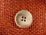 (36pcs) 4 holes Italian Buttons 1 inch White #bag-214