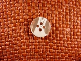 (72pcs) 4 holes Designer Buttons 5/8 inch Clear White #bag-217