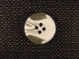 (96pcs) 4 holes Designer Buttons 13/16 inch White #bag-21