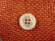 4 hole Italian Pearl Buttons 7/8 inch Natural Pearl #Bpiece-179