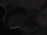 Black Novelty Plain Weave Wool Fabric K-452