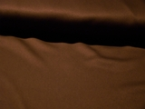 Dark Brown Satin Faced Gabardine Fabric #NV-15