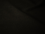 Black Gabardine Fabric #NV-114