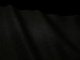 Black Gabardine Fabric #NV-12