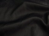 Designer Satin Faced Black Gabardine Fabric # 3F-294