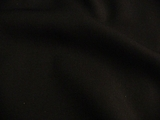 Black Wool Gabardine Suiting Fabric # 3F-213