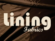 Lining Fabric by the Yard
