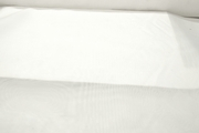 Smooth Pure White Sheer Fabric # K-100