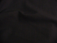 Wine Pinstripe Worsted Wool Suiting Fabric