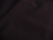 Navy Worsted Wool Wine Pinstripe Fabric