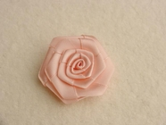 Light Pink Flower Ribbon Applique #AP-277