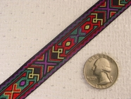 Richly Connected Patterned Jacquard Ribbon #WR-36