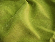 Exclusive Black & Lime Green Italian Sparkle Double Cloth Linen Blend Fabric UU-591