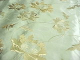 Sea Crystal Beverly Rodeo Jacquard Drapery Fabric # RR-113