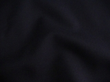 Navy Wool Blend Gabardine Fabric # 3F-238