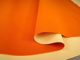 Orange Poly Cotton Fabric with Leak Proof Liner Backing # NV-240