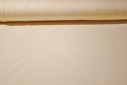"Ivory Pure Cotton 1/4"" Striped Rib Knit Fabric #NV-295"