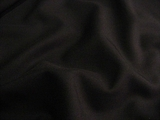 Black Worsted Wool Gabardine Fabric UU-429