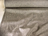 Italian Grey Fine Textured Wool # WL-25