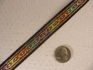One of a Kind and Unique Jacquard Ribbon #WR-17