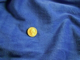 Royal Blue Velour Knit Fabric # 3F-490
