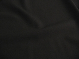 Designer Black Wool Blend Fabric # UU-674
