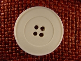 (24pcs) 4 holes Italian Buttons 1 3/8 inches Off White #bag-193