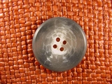(36pcs) 4 holes Italian Buttons 1 1/4 inches Grey #bag-198