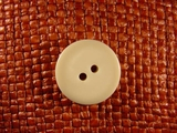 (36pcs) 2 holes Designer Buttons 7/8 inch Off White #bag-227
