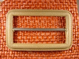 (10pcs) Buckle 1 1/2 inches X 2 1/2 inches Tan #bag-231