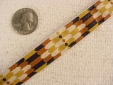 Vintage Brown/Tan Multi Pattern Ribbon #-WR-329