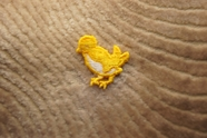 Yellow and White Little Bird Applique # appliques-1066