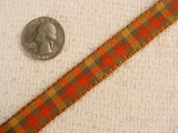 Vintage Harvest Plaid Ribbon #-WR-341