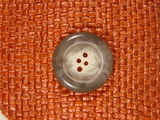 4 hole Buttons from Italy 1 1/8 inches Light Grey #Bpiece-276