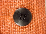4 hole Buttons 1 1/4 inches Black #Bpiece-278