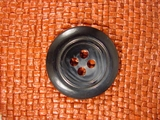 Designer 4 hole Buttons from Italy 1 3/8 inches Navy #Bpiece-293