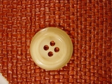 Designer 4 hole Buttons from Italy 1 1/8 inches Honey #Bpiece-297