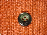 Italian Designer 4 hole Buttons 7/8 inch Dark Green #Bpiece-305